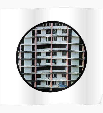 Soviet Architecture Poster