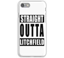 Straight Outta Litchfield iPhone Case/Skin