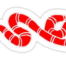 Red Coral Snake Sticker