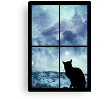 All The Wonder Of A December Evening Canvas Print