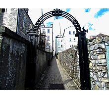 Lane in Enniskillen, Derry, Northern Ireland Photographic Print