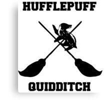 Hufflepuff quidditch Canvas Print