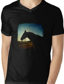 Urban Cowboy - TTV Mens V-Neck T-Shirt
