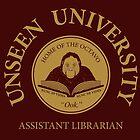 Assistant Librarian by vonplatypus