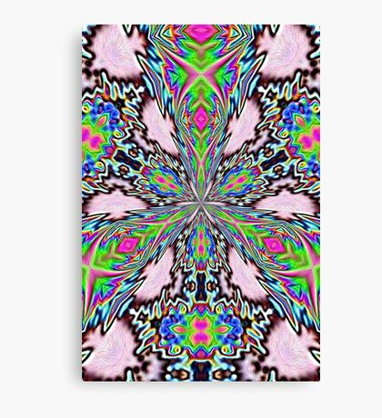 psychedelic radiance Canvas Print