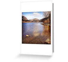 A Long Loch To Go Greeting Card