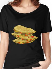 Glitch Food spicy quesadilla Women's Relaxed Fit T-Shirt