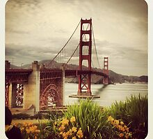 Golden Gate Bridge by katiecrumpton