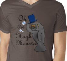 Oh the hugh manatee Mens V-Neck T-Shirt