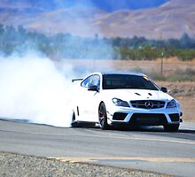 Burn Rubber C63 Black Series by Timothy  Iverson Auto Photography