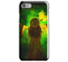 Moon of the Green Witch iPhone Case/Skin