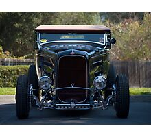 Ford Hot Rod V8 Photographic Print