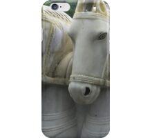 White Horses, Mauritius iPhone Case/Skin