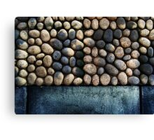 Faux Cobble Pavers Canvas Print