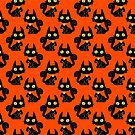 Pretty Black Cat Pattern by SaradaBoru