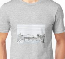 Firenze Italy a bridge over the Arno * Unisex T-Shirt
