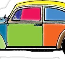 VW Beetle Sticker