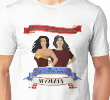 Girl power- True heroes Unisex T-Shirt