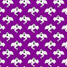 Purple Ghost Pattern by SaradaBoru