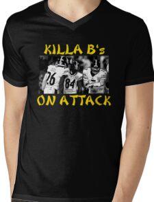 Steelers Killa B's Mens V-Neck T-Shirt