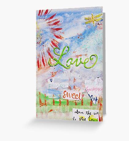 Love, Sweet You Greeting Card