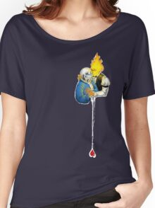 Sansby, heart for you. Women's Relaxed Fit T-Shirt