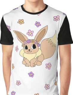 Flower Crown Evee Graphic T-Shirt