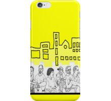 Folks in Community iPhone Case/Skin