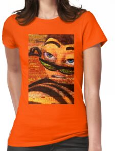 The ENTIRE BEE MOVIE but it's on a t-shirt and I've put Barry over the top Womens Fitted T-Shirt