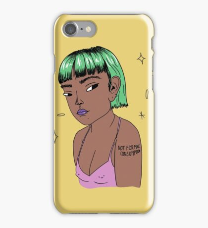 NOT FOR MALE CONSUMPTION iPhone Case/Skin
