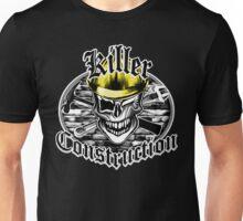 Construction Skull br yellow 6: Killer Construction Unisex T-Shirt