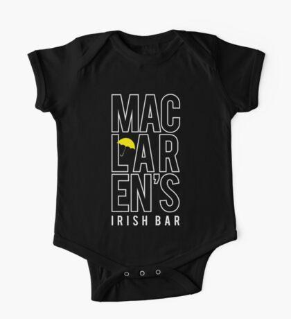 MacLaren's Irish Bar One Piece - Short Sleeve