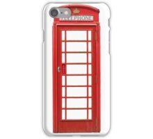 British Telephone Box iPhone Case/Skin