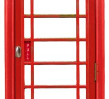 British Telephone Box Sticker