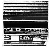 """""""Garaged"""" SLR 5000 A9X Holden Torana T-shirt Poster"""