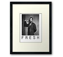 Lincoln fresh Framed Print