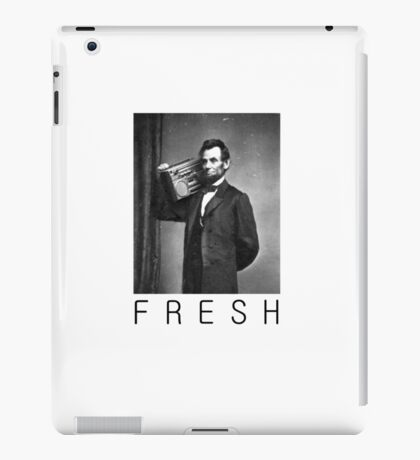 Lincoln fresh iPad Case/Skin