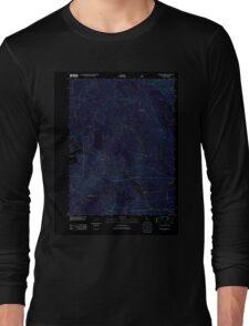 USGS TOPO Map California CA Spring Garden 20120327 TM geo Inverted Long Sleeve T-Shirt