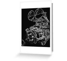 """Shottie"" - Supercharged V8 Engine Greeting Card"