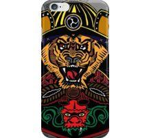 Tiger the Samurai iPhone Case/Skin