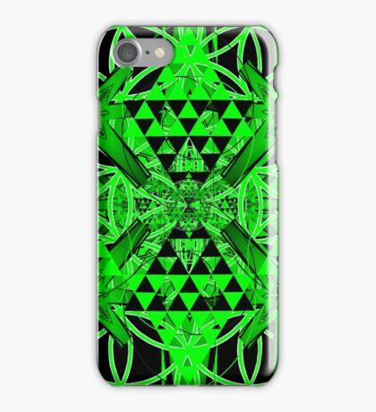 Green Chaos iPhone Case/Skin
