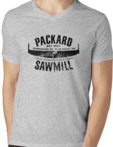 Packard Sawmill (Dark logo) Mens V-Neck T-Shirt