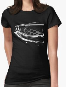 """Three"" – Mazda RX3 Rotary T-Shirt Womens Fitted T-Shirt"