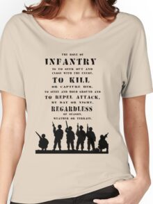 Role of Infantry Women's Relaxed Fit T-Shirt