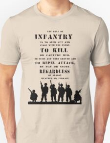 Role of Infantry T-Shirt