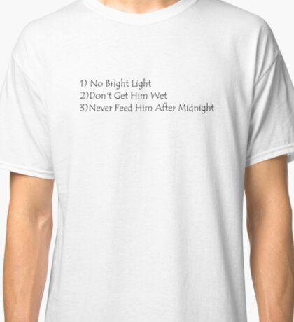 Rules of Mogwai Classic T-Shirt