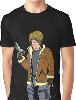 RE4 - LEON Graphic T-Shirt