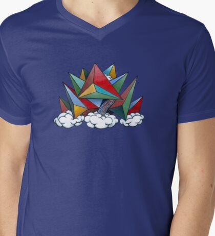 King Cloud Mens V-Neck T-Shirt