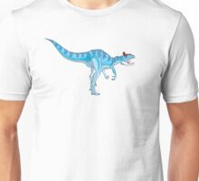 Ice Blue Cryolophosaurus Unisex T-Shirt