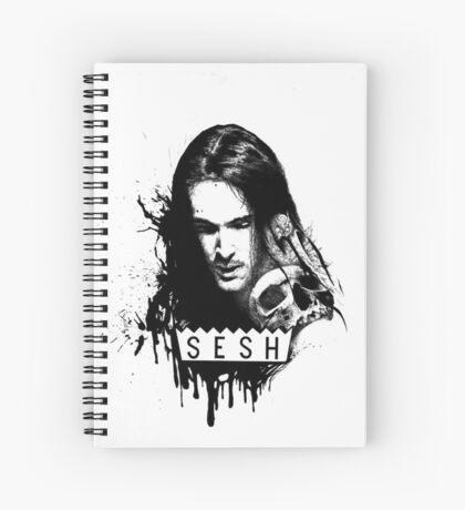 Bones TeamSESH Spiral Notebook